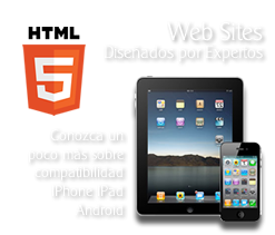 HTML5 Iphone Diseño web en Costa Rica